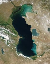Caspian Sea - List of seas