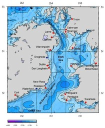 Irish Sea - List of seas